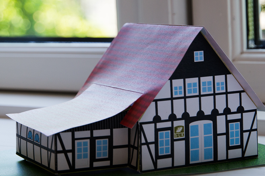 Haus Modell zum selber Hausen